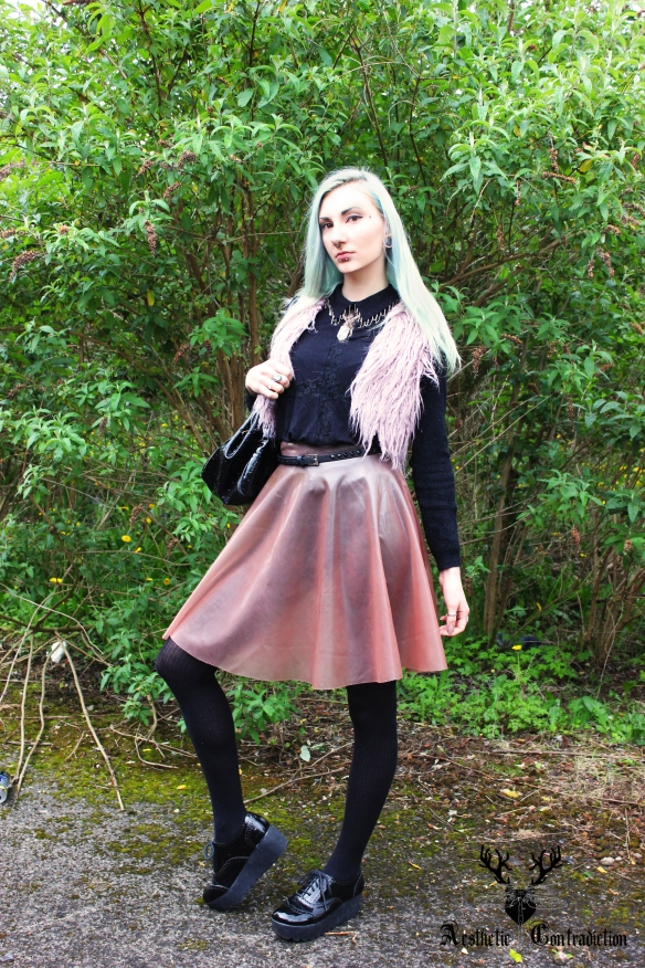 latex skirt 1