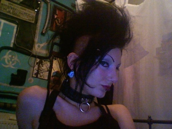 I used to wear a lot of fake hair but it was actually black at the time.